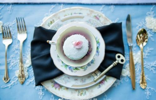 愛麗絲森系主題婚禮 進入一場夢游似的夢幻仙境