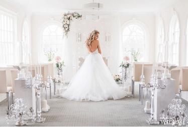 白色主題婚禮靈感 柔軟的白色風格婚禮設計