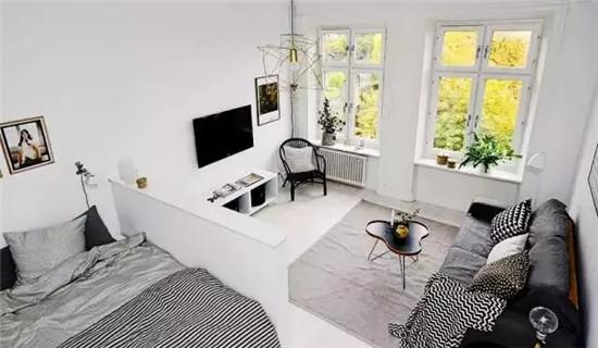 只有39㎡的长方形住宅 教你如何住出豪宅feel