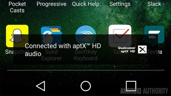 可支持aptxHD和LDAC 安卓8.0蓝牙音质大爆发