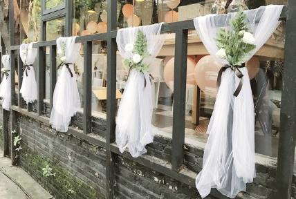 唯美韩式主题婚礼现场布置 新人的浪漫婚礼首选