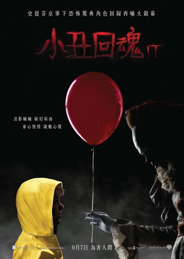 小丑回魂北美票房 两天冲破恐怖片纪录 小丑回魂剧情简介