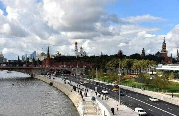 莫斯科花65亿在黄金地段打造公园 造价高昂挨批