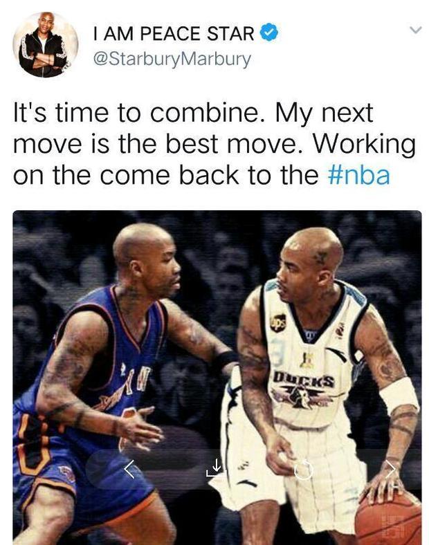 马布里:想重返NBA 曾以为在首钢退役是最好结局