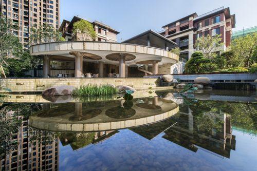 金辉·溪溪里实景图