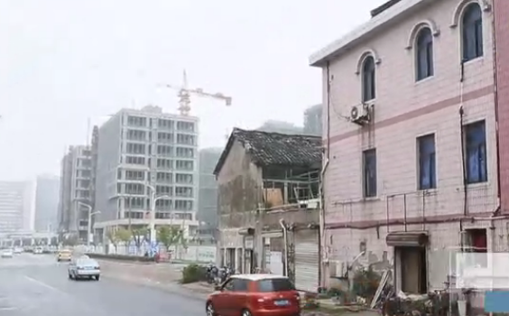 上海最牛钉子户坚守14年