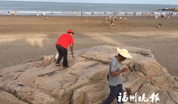 """长乐市加强海漂垃圾治理工作 提升海滩""""颜值"""""""