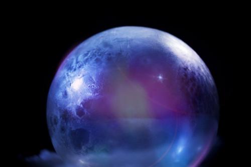 """海尔全球唯一""""有风""""冷柜冻出至美""""冰晶星球"""""""