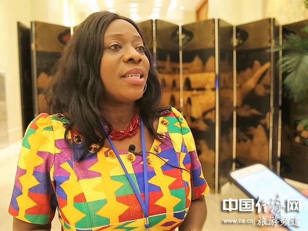 加纳旅游部长:以都江堰为起点 加快与中国旅游业的合作