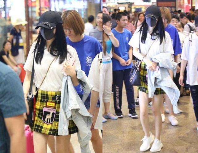 沈梦辰穿一万二的格子裙撞衫杨幂,输惨!网友:明星与网红的差别