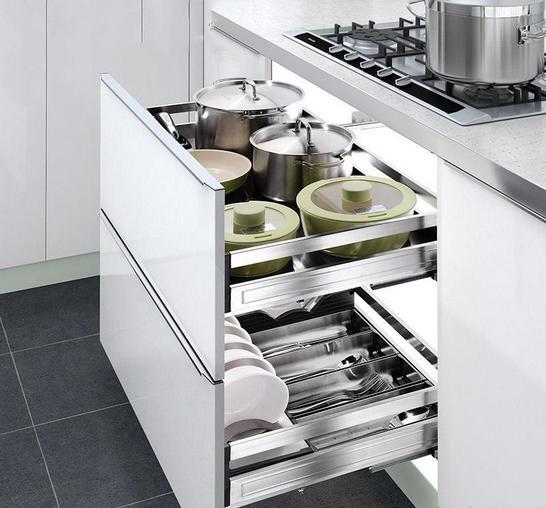 你家厨房精致不精致? 看厨房的拉篮就知道了!
