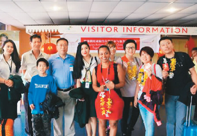 """海外盯上中国游客手机 """"微博+微信""""出游便利"""