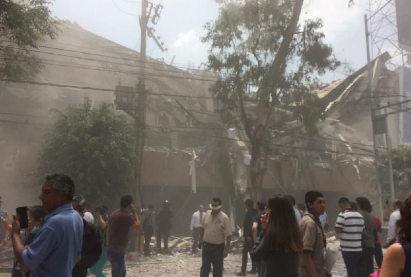 墨西哥发生7.1级地震 已造成138人死亡