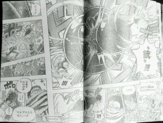 海贼王漫画879话情报:超人系对决 路飞开三挡被虐