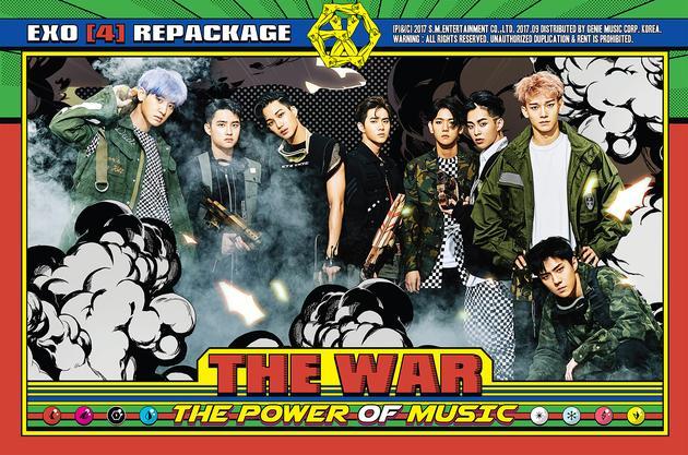 EXO后续新专辑连续两周夺首位 斩获多项大奖
