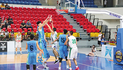 2017海峡杯篮球邀请赛台北站 两岸共享体育正能量