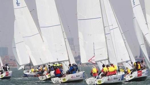 中国俱乐部杯帆船赛预选赛落幕 对抗赛将于11月举行
