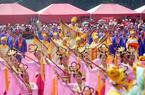 台湾古礼大典迎湄洲妈祖 郭台铭朱立伦亲自主祭