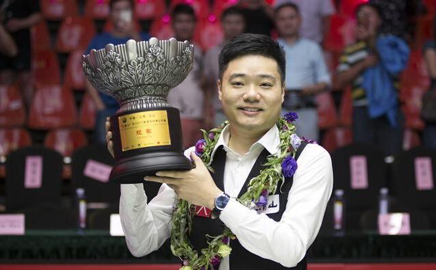 丁俊晖夺个人第13个排名赛冠军 80后选手第一人!