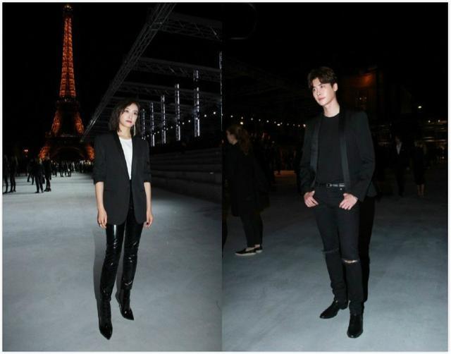 宋茜李鐘碩肩并肩巴黎看秀 網友:我以為他們在一起了