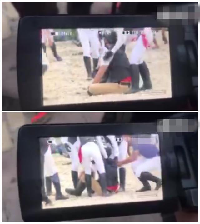 吴秀波意外坠马遭踩踏,工作人员瞬间蒙圈,经纪人却这么说?