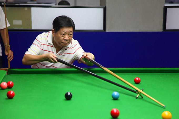 福建省老年人台球(斯诺克)项目交流活动在福州举行