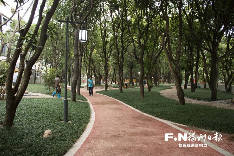 福州首批28个串珠公园全部完工