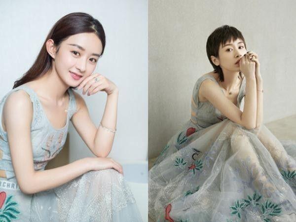 与王子文刘亦菲林心如撞衫之后,赵丽颖和刘雯又穿同款毛衣