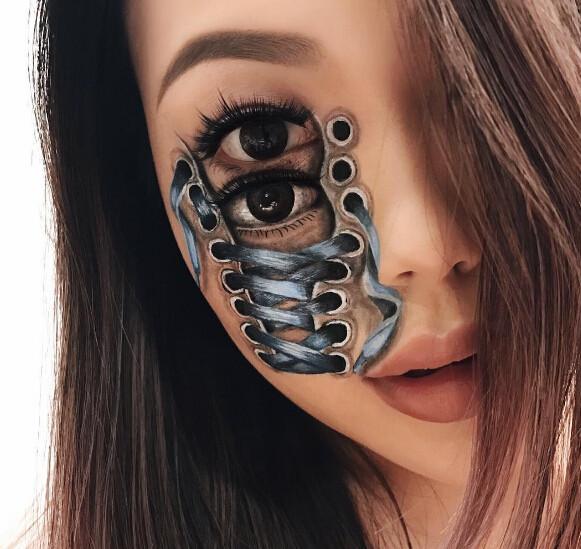 ca88亚洲城手机版【官方ca88亚洲城手机版下载】_加拿大女化妆师画的奇葩妆容,不敢直视