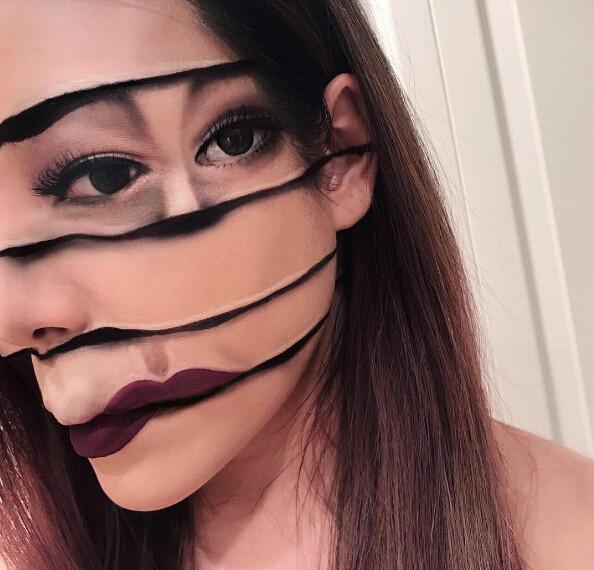 ca88亚洲城手机版下载_加拿大女化妆师画的奇葩妆容,不敢直视