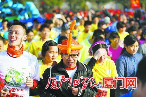 ca88亚洲城手机版下载_厦门马拉松昨晚抽签30000人中签 今起可查询抽签结果