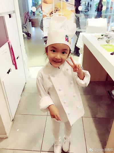 刘雨欣老公是谁微博晒女儿照片引热议 网友都不知道她结婚了