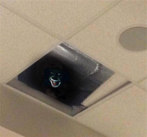 作弊抬头被天花板吓蒙!原来是监考老师正在直勾勾的盯着他