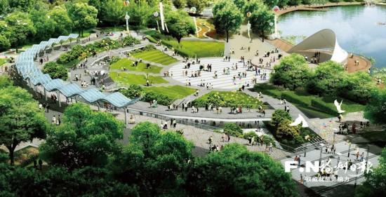 ca88亚洲城手机版下载_福清再添一张生态名片 城市中央公园即将动建