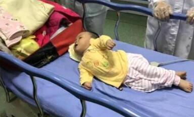 泉州7个月女婴嗷嗷哭泣 找寻自己的爸爸妈妈