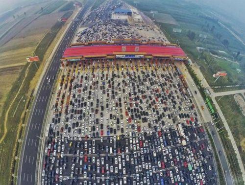 国庆假期堵的想骂街?返程也堵,那就来看看为啥堵车吧~