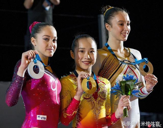 范忆琳高低杠卫冕比肩程菲 体操世锦赛中国再添1金2铜