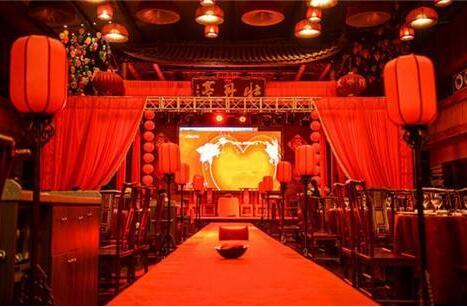 中式婚礼分为哪些类型? 白色的中式婚礼样式