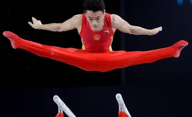 中国新秀邹敬园夺体操世锦赛男子双杠金牌 林超攀列第五