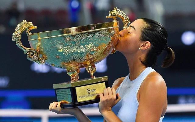法国姑娘加西亚摘中网冠军 独领风骚造就中国赛季辉煌