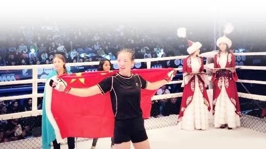 软妹子夺格斗金牌!90后综合格斗美女刷新中国零金牌记录!