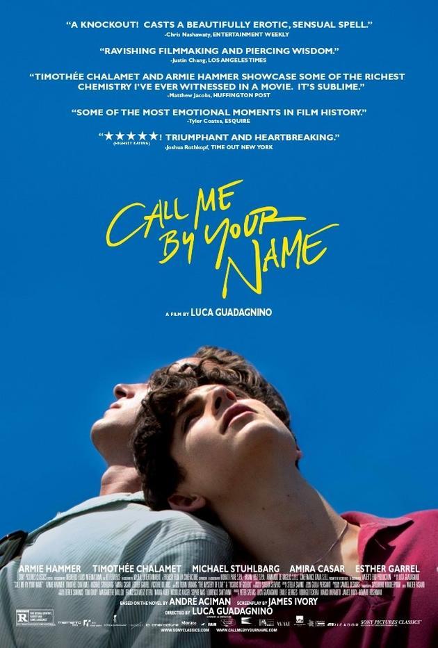 《请以你的名字呼唤我》柏林上映获高口碑!上映时间介绍