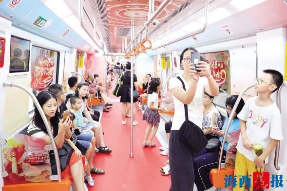 厦门地铁1号线体验式试运行结束 6天18万人体验