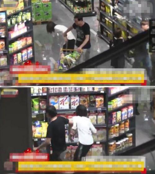 郑爽逛超市狂买零食,被爽爸强行拖走,又撒腿跑回去狂买?