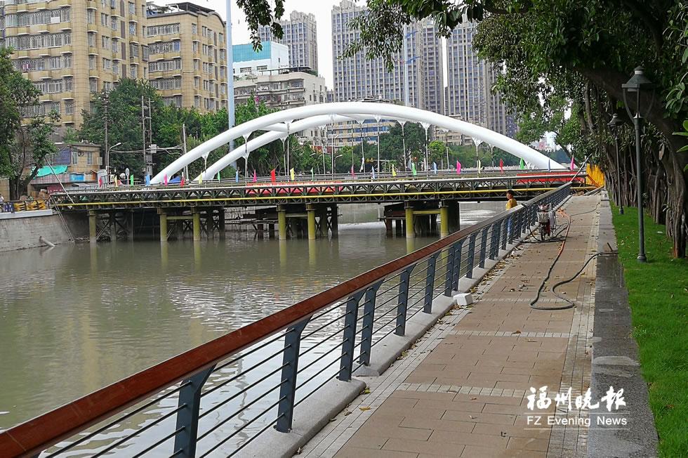 晋安河沿线景观月底前恢复 清淤工程年底前完成