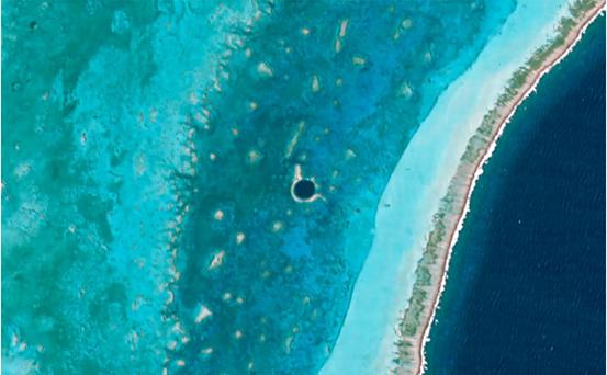 日本超小卫星拍地球画面 各地风貌如抽象水彩画