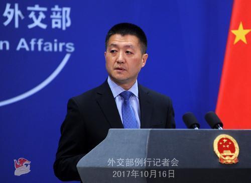 韩美海军在朝鲜半岛海域联合演习 外交部回应