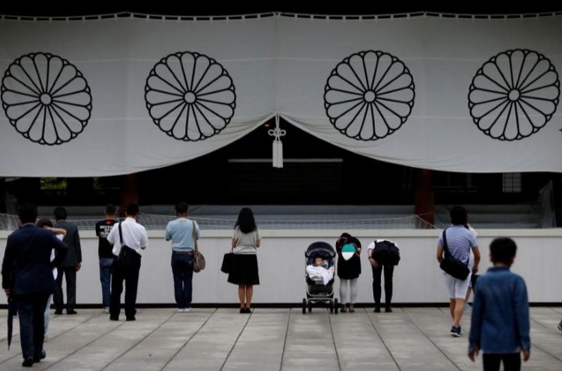 快讯:日本首相安倍晋三向靖国神社供奉祭品
