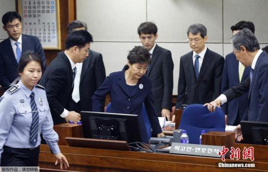 朴槿惠最新消息 韩检方对朴槿惠律师团请辞表遗憾 审判将受影响