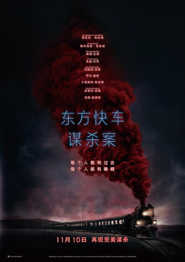 """《东方快车谋杀案》什么时候上映?呈现""""完美谋杀"""""""